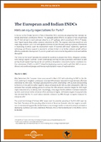 Cover INDCs India