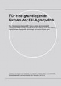 Cover: Positionspapier Agrarsubventionen