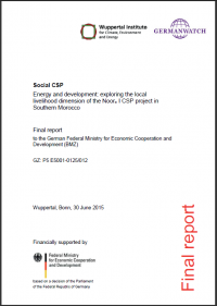 Cover Social CSP Report