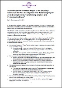 Cover Statement Synthesis Report Post-2015