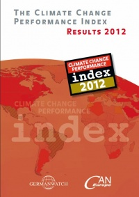 Deckblatt: The Climate Change Performance Index 2012