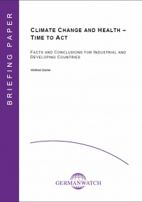Deckblatt: Climate Change and Health - Time to Act