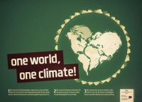 "Bild: Poster ""One World, One Climate"""