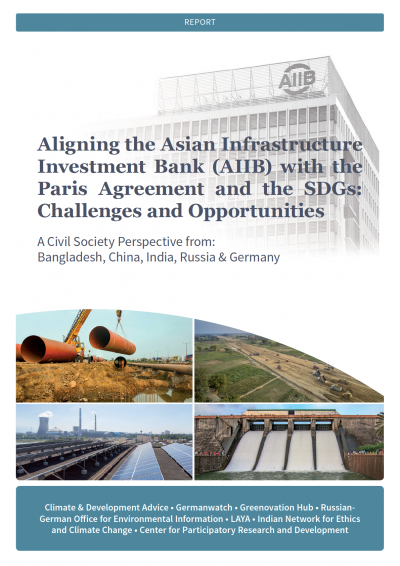 Aligning the Asian Infrastructure Investment Bank (AIIB) with the Paris Agreement and the SDGs: Challenges and Opportunities