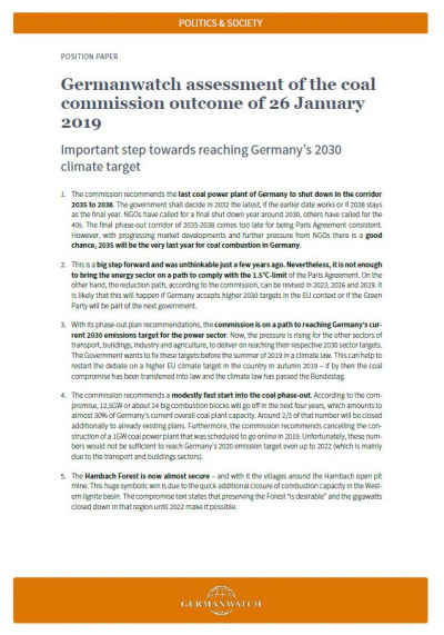 Cover_assessment of coal commission oucome