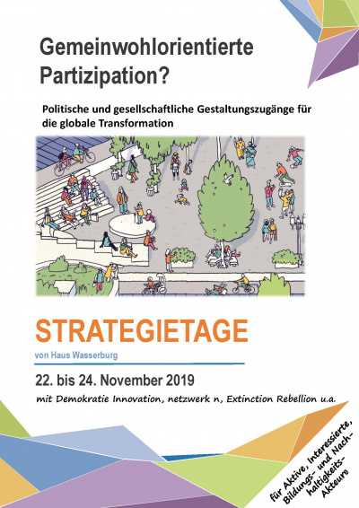 Strategietage: Gemeinwohlorientierte Partizipation
