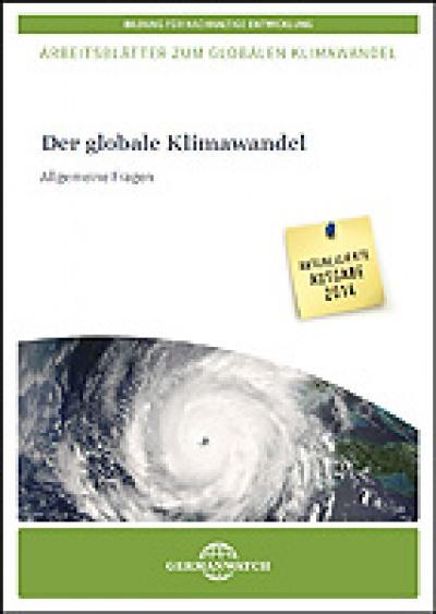 arbeitsbl tter der globale klimawandel allgemeine fragen germanwatch e v. Black Bedroom Furniture Sets. Home Design Ideas