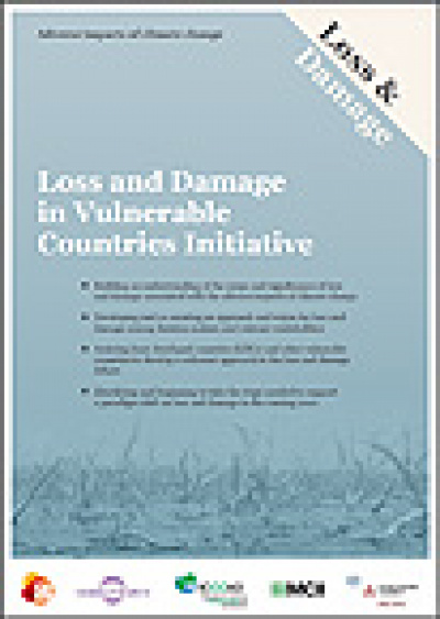 Cover: Brochure Loss and Damage