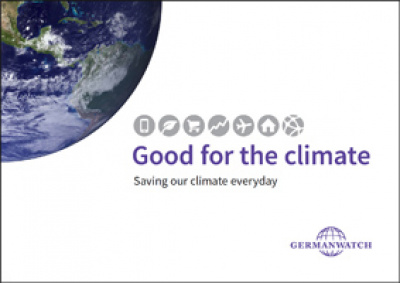 Cover: Good for the climate
