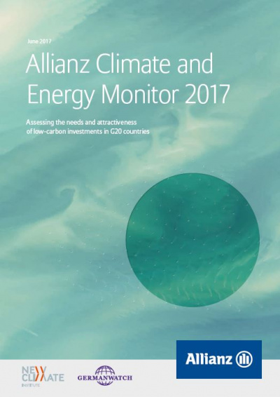 Cover: Allianz Climate and Energy Monitor