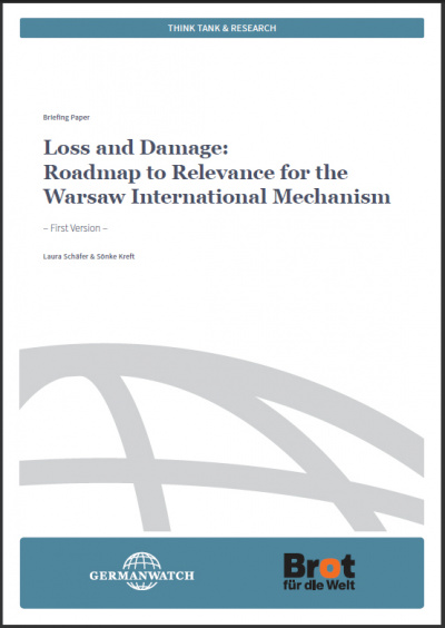Cover Loss and Damage Roadmap to Relevance for the Warsaw International Mechanism