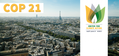 Slider zur COP21 in Paris