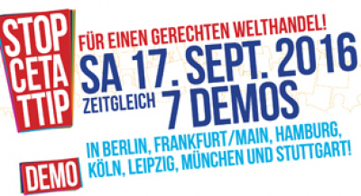 TTIP-Demonstrationen 2016
