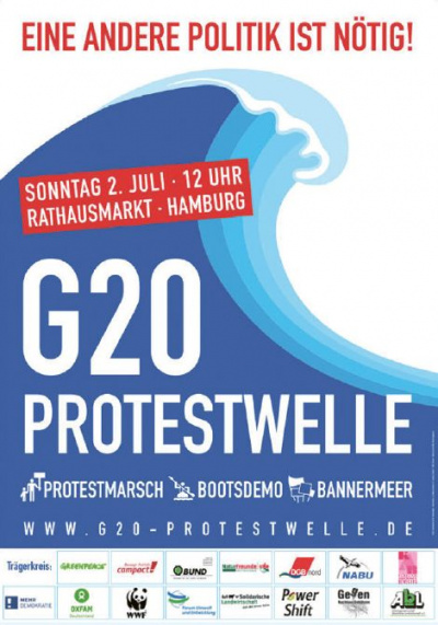 Weitblick 2/2017: Protestwelle Poster