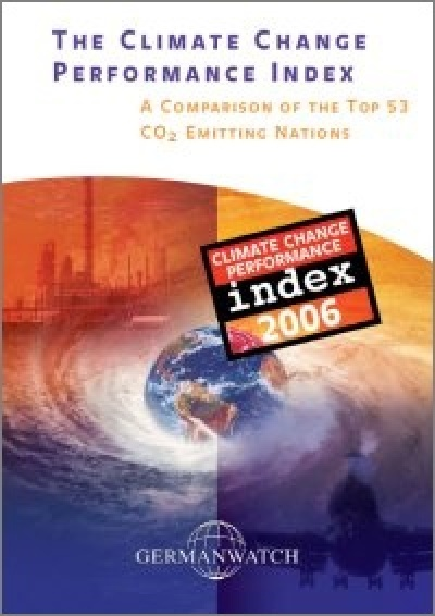 Deckblatt: Climate Change Performance Index 2006