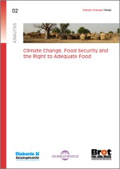 Cover: Climate change, food security and the right to adequate food