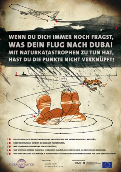 Bild: Poster Connecting the Dots, Flug