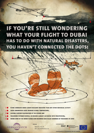 Picture: Poster Connecting the Dots - Flight